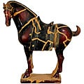 Chinese 13-inch Tang Tomb Horse Statue (China)