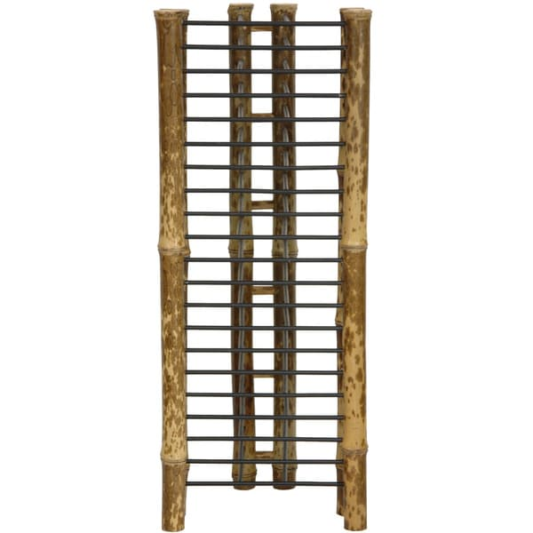 Japanese Bamboo 18-inch Vertical CD/ DVD Rack (China)