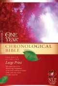 The One Year Chronological Bible: Premium Slimline, Large Print (Paperback)
