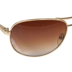 Men's Kenneth Cole Metal Aviator Sunglasses