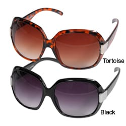 Women's Journee Oversized Plastic Sunglasses