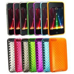 7-piece TPU Cases for Apple iPod Touch Gen 2/ 3
