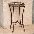 International Caravan Santa Fe Nailhead Square Plant Stand