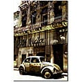 '1956 Volkswagen Beetle Sedan' Gallery Wrapped Canvas Art