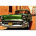 '1957 Chevy Bel Air' Gallery-wrapped Canvas Art