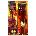 'Al Sol del Sentimiento' Gallery Wrapped Canvas Art