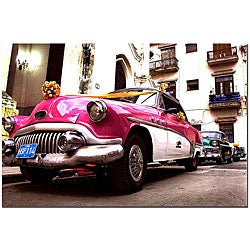 'Buick Special Deluxe Convertible' Gallery-wrapped Canvas Art