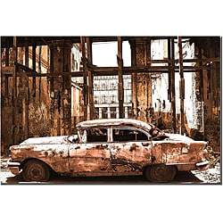 'Old Times' Gallery Wrapped Canvas Art
