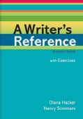 A Writer's Reference With Exercises (Spiral bound)