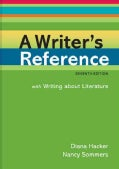 A Writer's Reference: With Writing About Literature (Spiral bound)