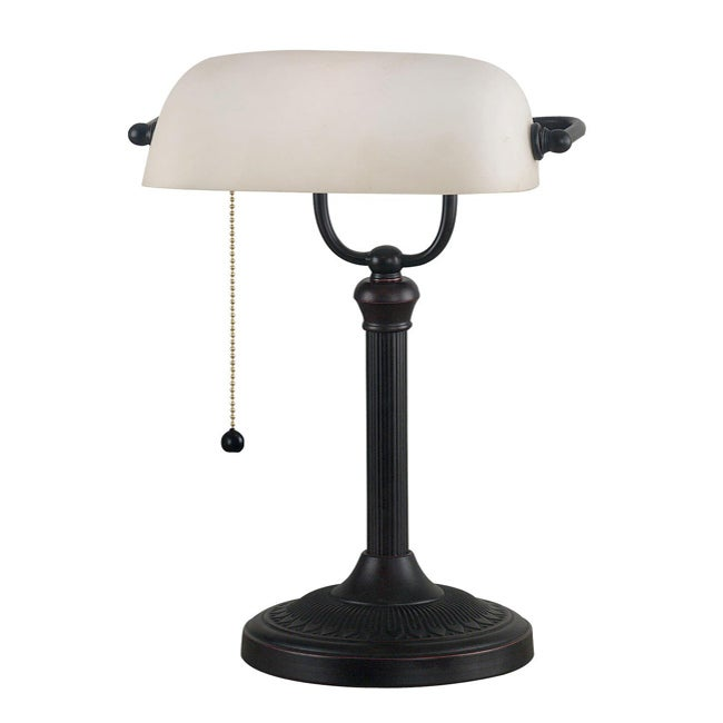 Kenroy Charleston Banker Style Bronze Desk Lamp at Sears.com