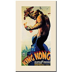 'King Kong' Canvas Poster Art