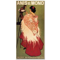 'Anis del Mono' Canvas Poster