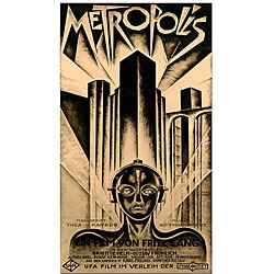 Schuluz Nendamm 'Metropolis' Vintage Gallery-Wrapped Canvas Poster