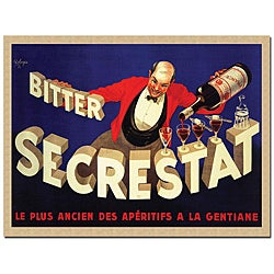 Robert Wolfe 'Bitter Secrestat' Gallery-wrapped Canvas Poster