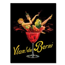 'Vlan Du Bernie' Vertical Canvas Poster