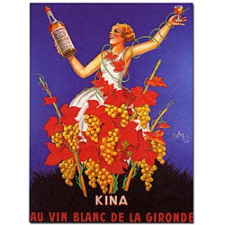 Robys 'Kina Lillet' Canvas Poster