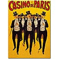 'Casino de Paris' Canvas Poster