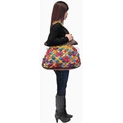 Amerileather Fleur Medium Shoulder Bag