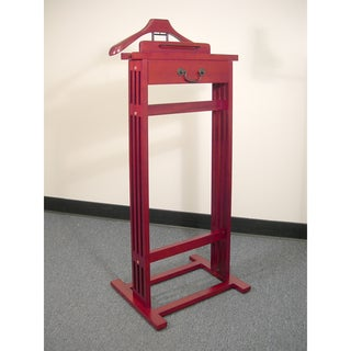 Mission VL16187 Dark Cherry Wardrobe Valet