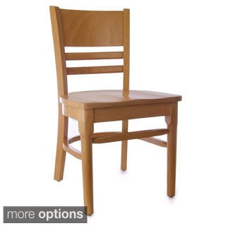Coffee House Wood Side Chairs (Set of 2)