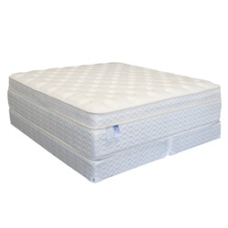 Serenity Euro-Memory 18-inch King-size Mattress Set