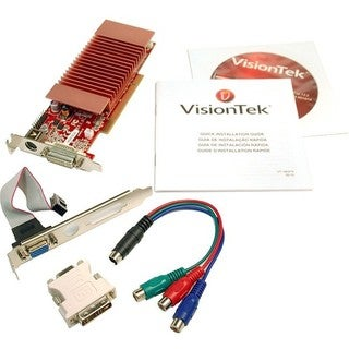 Visiontek 900321 Radeon 3450 Graphic Card - 512 MB DDR2 SDRAM - PCI -
