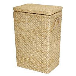 Rush Grass Laundry Basket (China)