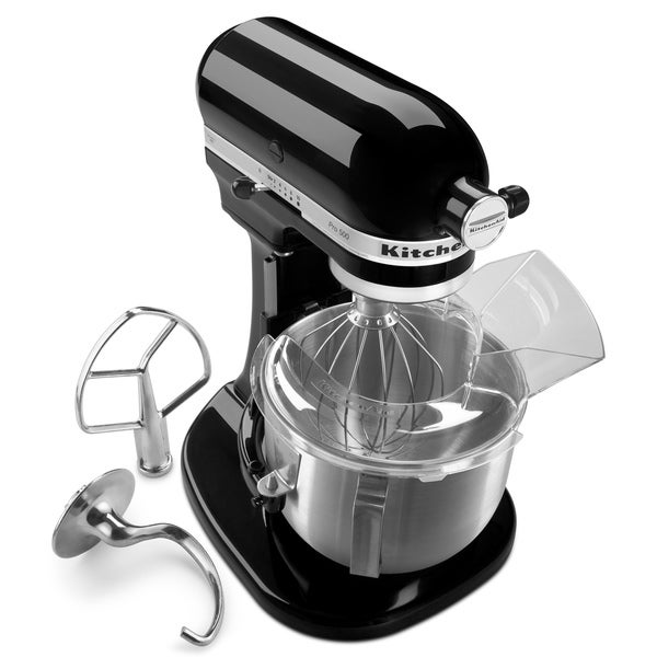 KitchenAid KSM500PSOB Onyx Black Pro 500 5-Quart Stand Mixer