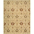 Nourison Hand Tufted Beaufort Gold Wool Rug (7'6 x 9'6)