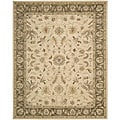 Nourison Hand Tufted Beaufort Cream Wool Rug (3' x 5'6)