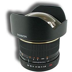 Rokinon 14mm F2.8 Super Wide Angle Lens for Nikon