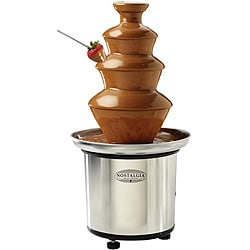 Nostalgia Electrics 3-tier Stainless Steel Fondue Fountain