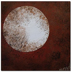 Nicole Dietz 'Moon' Gallery-wrapped Canvas Art