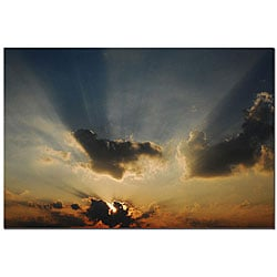 Kurt Shaffer 'Beautiful Sky II' Gallery-wrapped Canvas Art