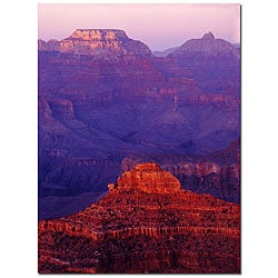 Kurt Shaffer 'Grand Canyon Color' Gallery-wrapped Canvas Art