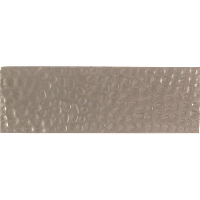 Hammered Pewter Accent Tiles (Set of 4)