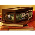 Glass 'Panda Family' Jewelry Box (Peru)