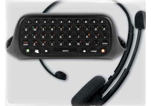Xbox 360 - Chatpad (Keyboard for Text Input) - By Microsoft