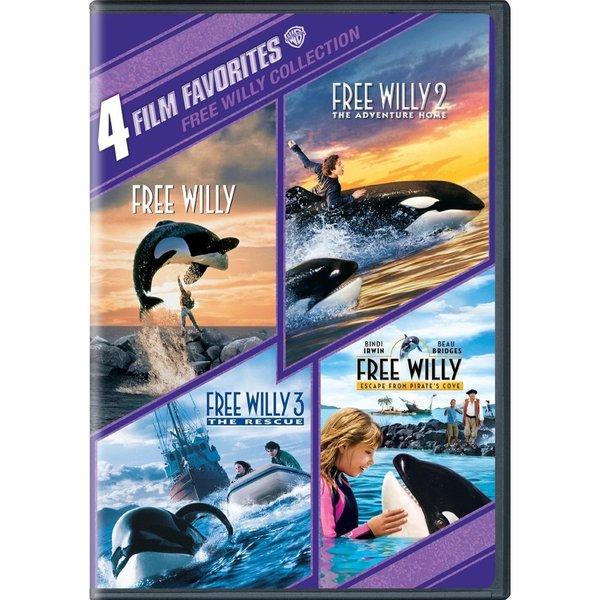 4 Film Favorites: Free Willy 1-4 (DVD) 6947955
