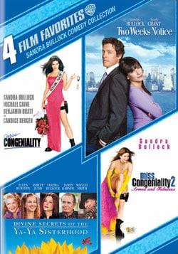 4 Film Favorites: Sandra Bullock Comedy (DVD)