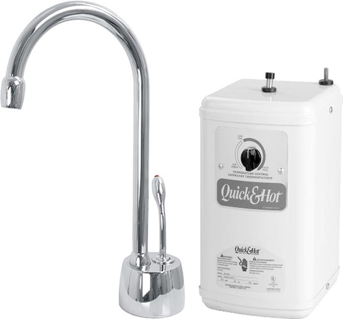 Polished Chrome Lead-free Instant Hot Water Dispenser and Heating Tank