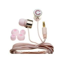 Nemo Digital Pink Crystal 'C' Earbud Headphones