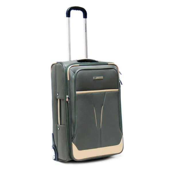 CalPak Kensington Khaki 25-inch Expandable Upright Suitcase