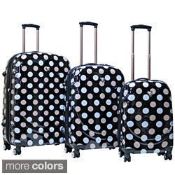 CalPak Montego Bay Polycarbonate Shell Hardside 3-piece Luggage Set