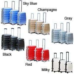 CalPak Napoleon ABS Thermoplastic Hardside 3-piece Luggage Set