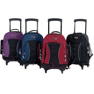 CalPak Bleacher 18-inch Rolling Backpack