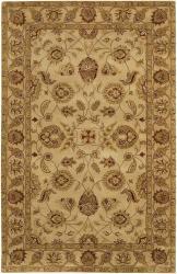 Hand-tufted Mandara Ivory Wool Rug (7'9 x 10'6)