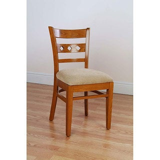 Diamond Back Cherry Side Chairs (Set of 2)