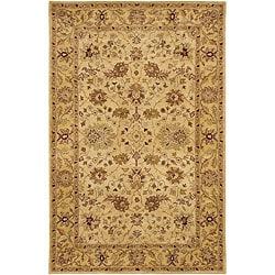 Hand-tufted 'Mandara' Ivory Wool Rug (9' x 13')